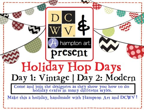 DCWV & Hampton Art Blog Hop