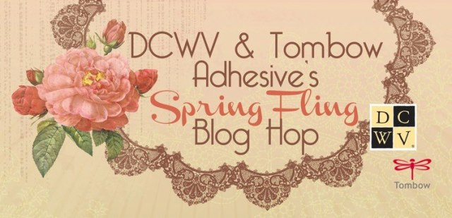 DCWV & Tombow Blog Hop