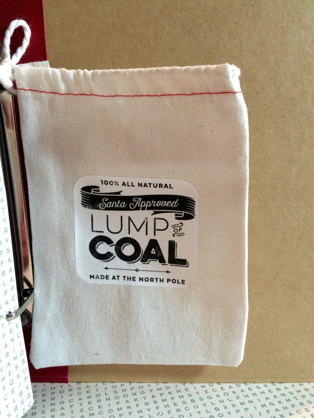 December Daily Coal Bag